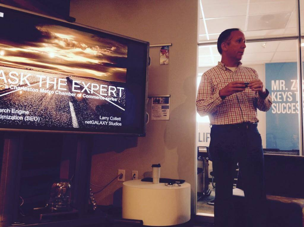 Ask the Expert Series - Charleston Chamber - Larry Collett